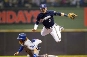 justin-turner-scooter-gennett-mlb-los-angeles-dodgers-milwaukee-brewers-850x560