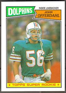 john-offerdahl-1987-topps-244-rookie-card-miami-dolphins
