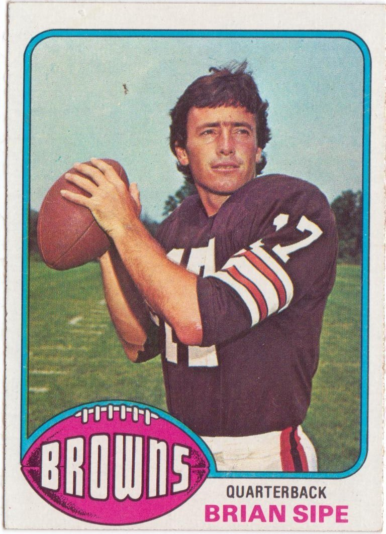 9ae9d3cd Throwback Thursday – From Backup to Kardiac Kid – Brian Sipe – QB ...