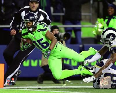 Fly High Tyler Lockett Wr Seattle Seahawks Heroes In